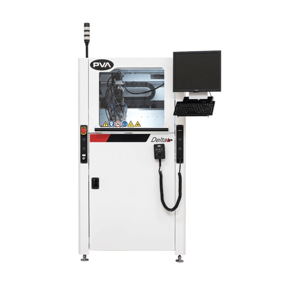 Delta 6 Selective Coating/Dispensing System Front Shot