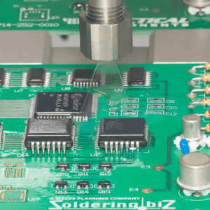 Close up of Conformal Coating